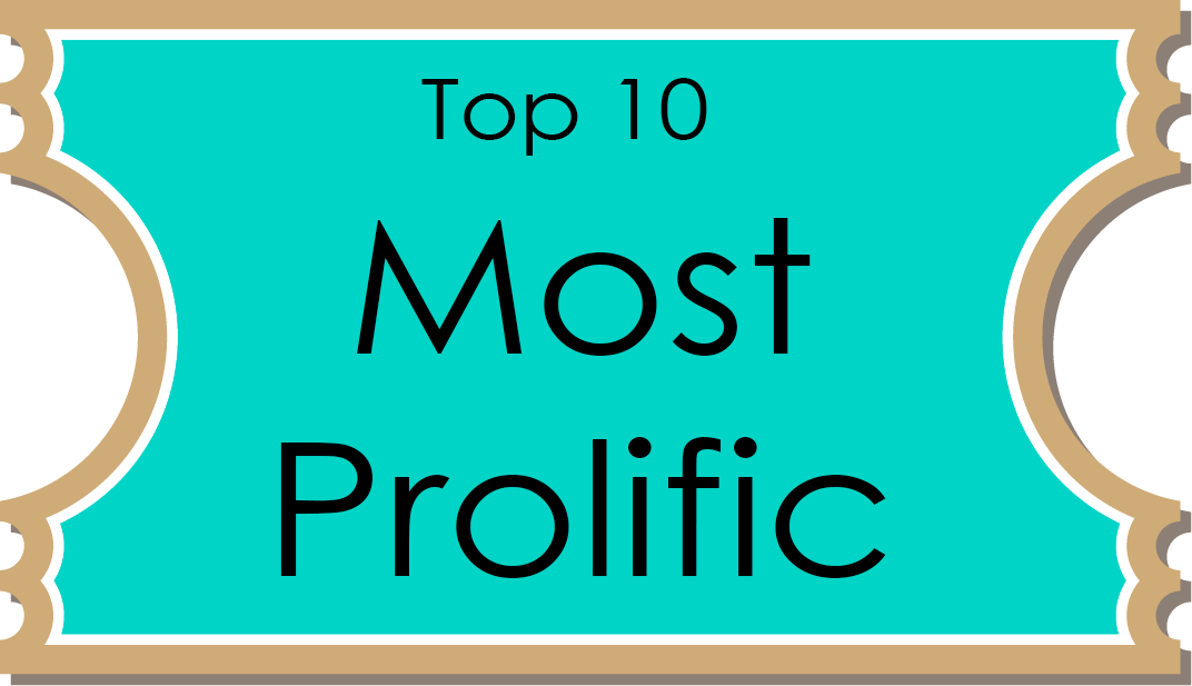 9 most prolific