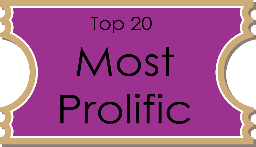 16 most prolific
